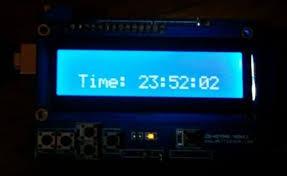 Simple Arduino LCD Clock - rogerparks com
