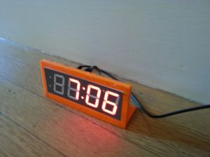 Adafruit 7 segment display clock